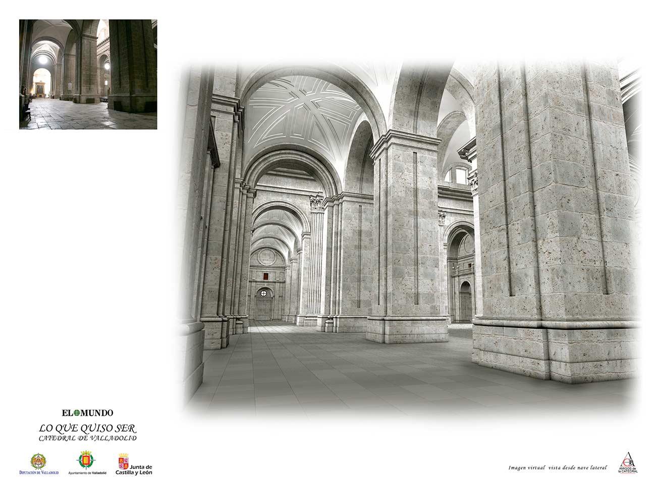 Catedral de valladolid lo que quiso ser - Estudio arquitectura valladolid ...